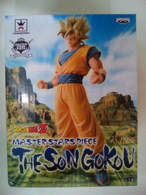 ドラゴンボールZ MASTER STARS PIECE 孫悟空 THE SON GOKOU バンプレスト